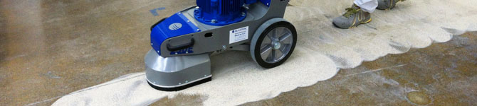 Industrial Flooring | Blastrac Surface Preparation Equipment