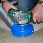 The BGV-125AV Hand Held Grinder