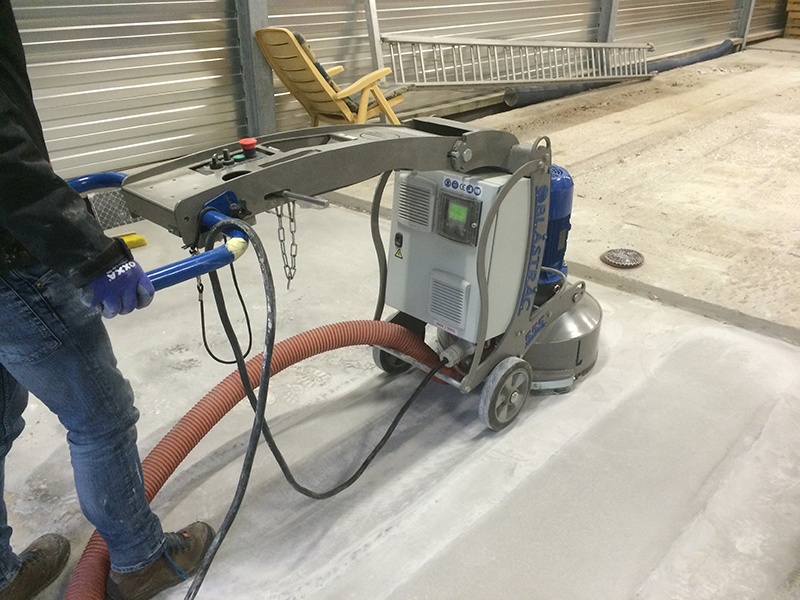The BMG-555 Floor Grinder