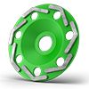 Ø180mm Standard Cup Wheels