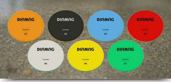 Image of the Diamag resin polishing pads